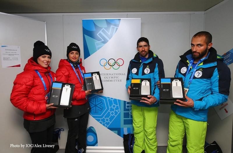 هدیه سامسونگ به ورزشکاران ایرانی با عذرخواهی کمیته المپیک