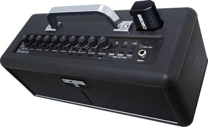 Katana Air اولین آمپ گیتار کاملا وایرلس دنیا از Boss