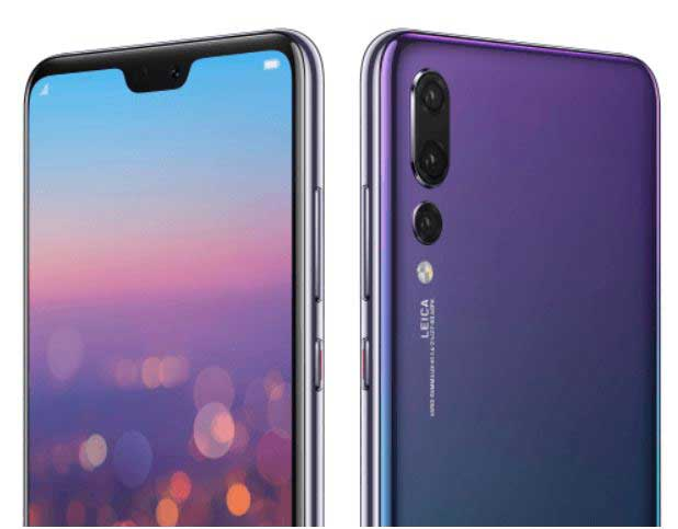 انتشار همه رنگهای Huawei P20 : سورپرایز رنگ P20 Pro