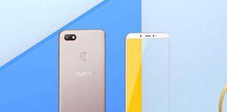 معرفی Nubia V18 با صفحهنمایش 6 اینچی 205 دلار!