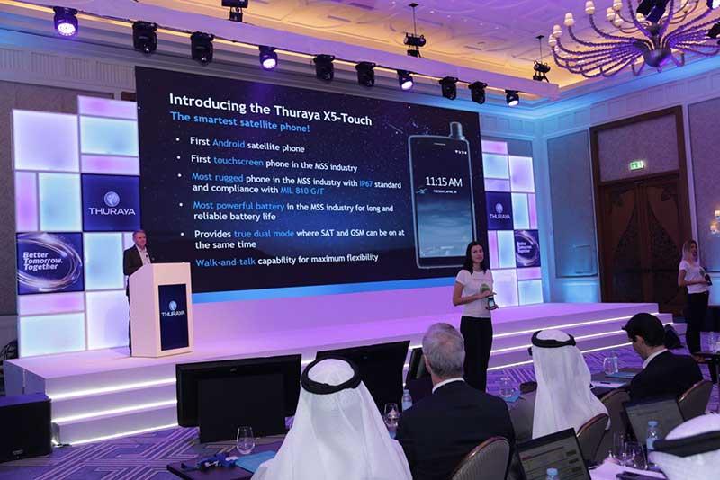 معرفی ثریا X5 Touch اولین گوشی هوشمند ماهوارهای