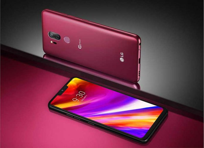 LG G7 ThinQ آمد : 6.1 اینچی، 16+16MP