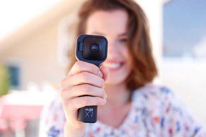 Vuze XR دوربین ورزشی با ویدئوی 360 و 180 درجه 3D!