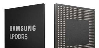 معرفی اولین حافظه 8 گیگابیتی LPDDR5 سامسونگ