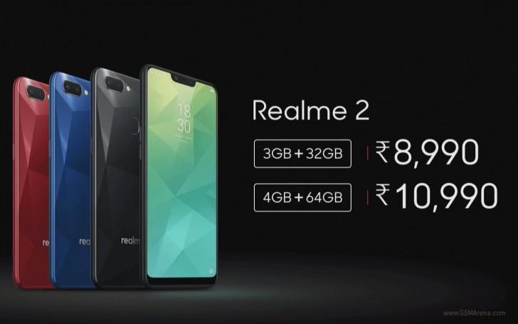 اوپو Realme 2 با صفحهنمایش و باتری بزرگتر،دوربین دوگانه