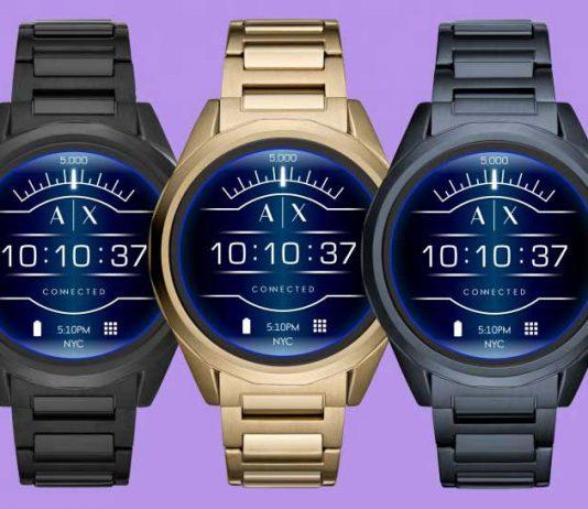 Armani Exchange ساعت جدید اندروید-ور با تم fashion