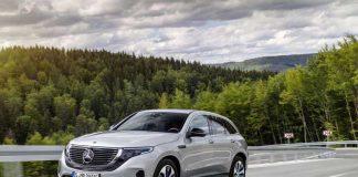 مرسدس بنز EQC خودروی تمامالکتریکی با برد 320 کیلومتر