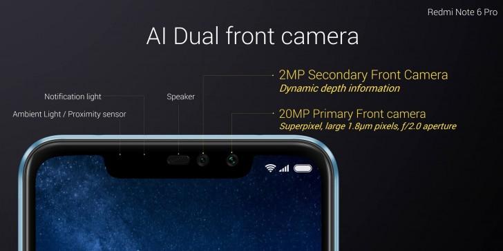 معرفی شیائومی Redmi Note 6 Pro چهار دوربین، 215 دلار!