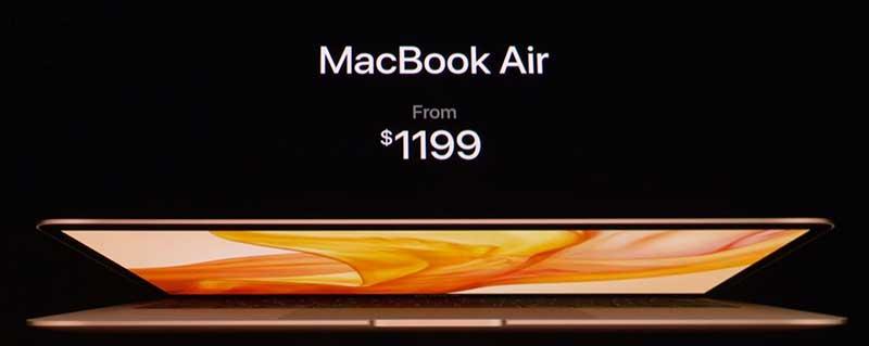Macbook Air رتینا جادوی جدید 13 اینچی اپل