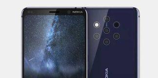 تصاویر و ویدئویی از نوکیا 9 با 5 دوربین!