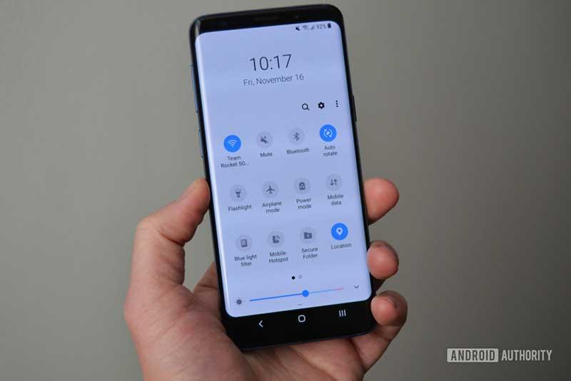 تجربه One UI و اندروید Pie برای گلکسی S9