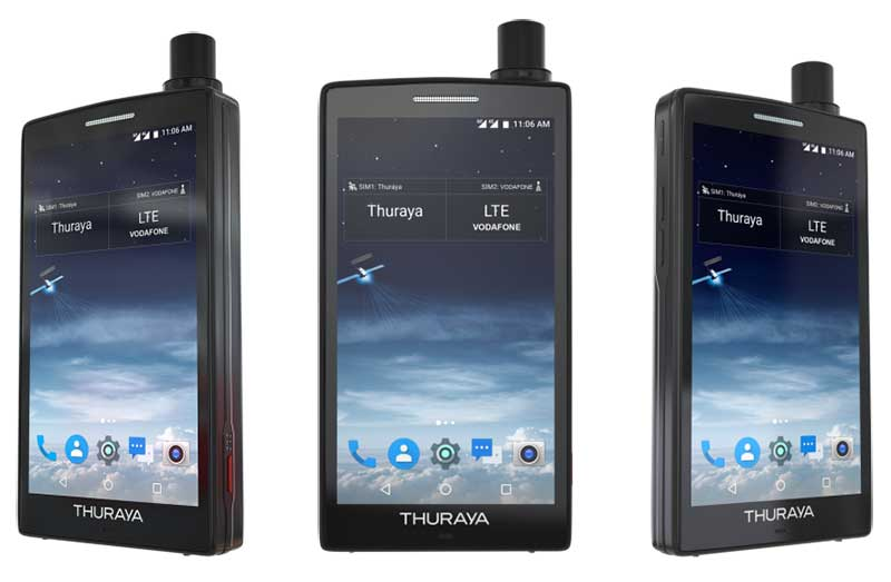 Thuraya X5-Touch این بار رسما معرفی شد اولین اندرویدی ماهوارهای!