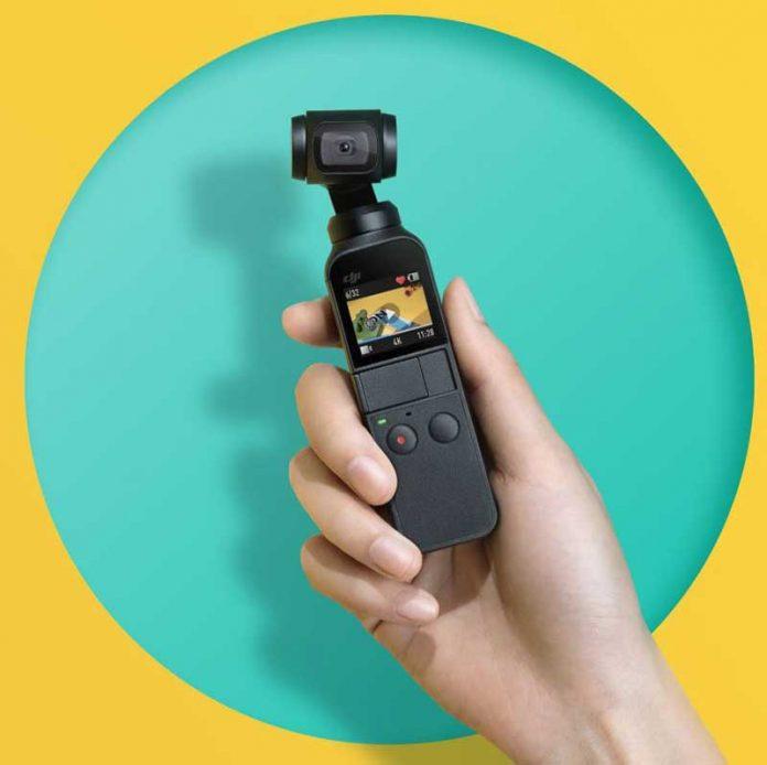 DJI Osmo Pocket کوچکترین دوربین 4K با گیمبال 3 جهته