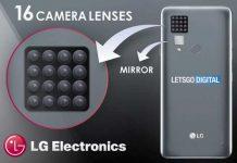 LG یک دوربین موبایل با 16 لنز میسازد؟