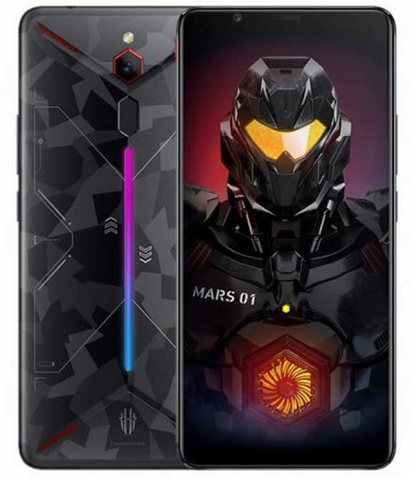 ِRed Magic Mars گیمینگفون جدید ZTE با 10 گیگ RAM