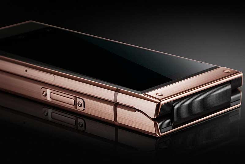 سامسونگ W2019 تاشوی اشرافی جدید برای بازار چین