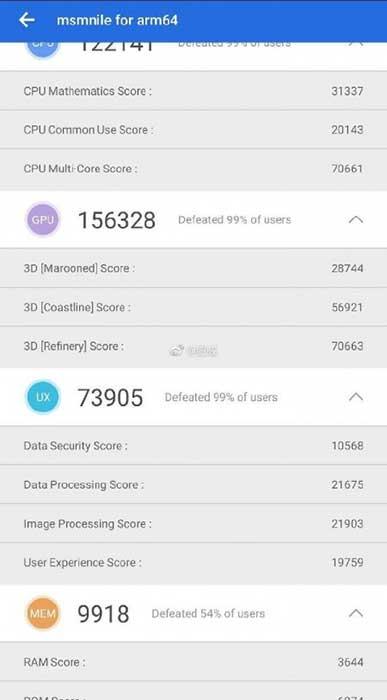 امتیاز Snapdragon 8150 در AnTuTu فراتر از همه رقبا!