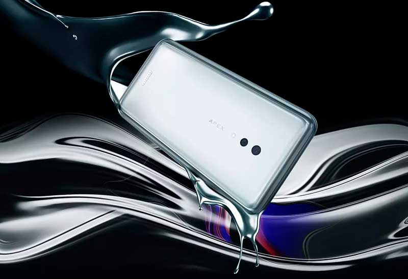 Vivo APEX 2019 آمد: 5G، بدون دکمه بدون پورت 12GB رم