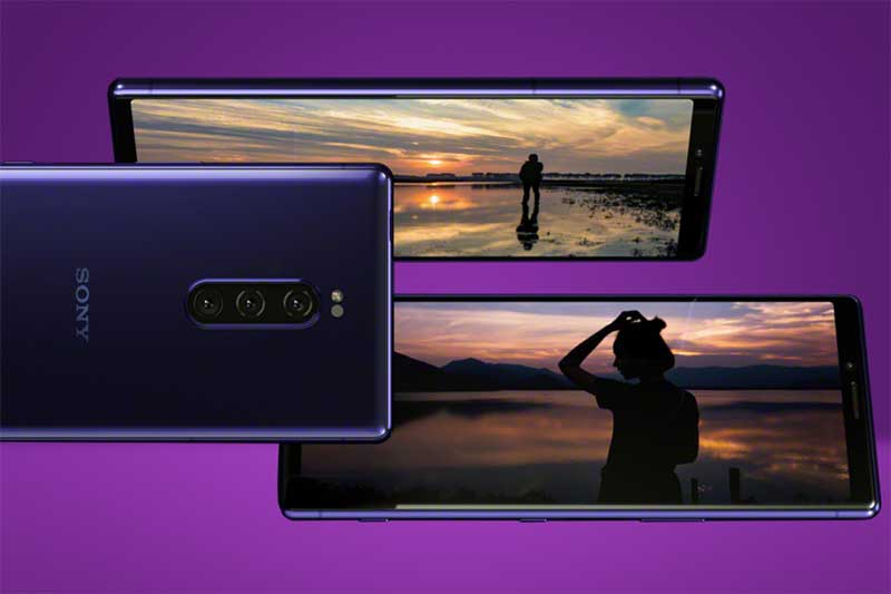 MWC 2019 - سونی اکسپریا 1 اولین OLED 4K دنیا