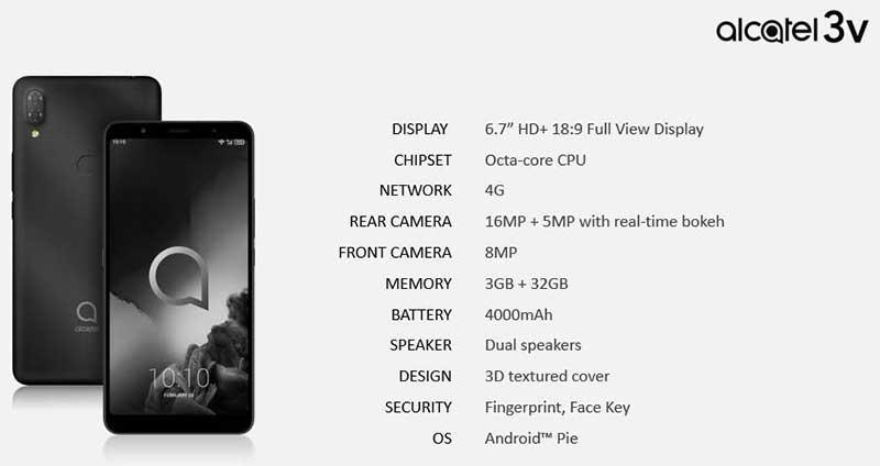 لو رفتن 6 گوشی جدید آلکاتل برای MWC 2019
