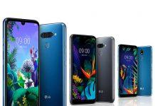 LG Q60 و K50 و K40، میانردههای جدید الجی