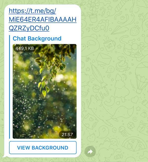 آپدیت تلگرام جدید: تغییر بکگراند چت و بیشتر
