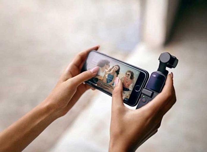 درگاه میکروفون 35 دلاری برای DJI Osmo Pocket