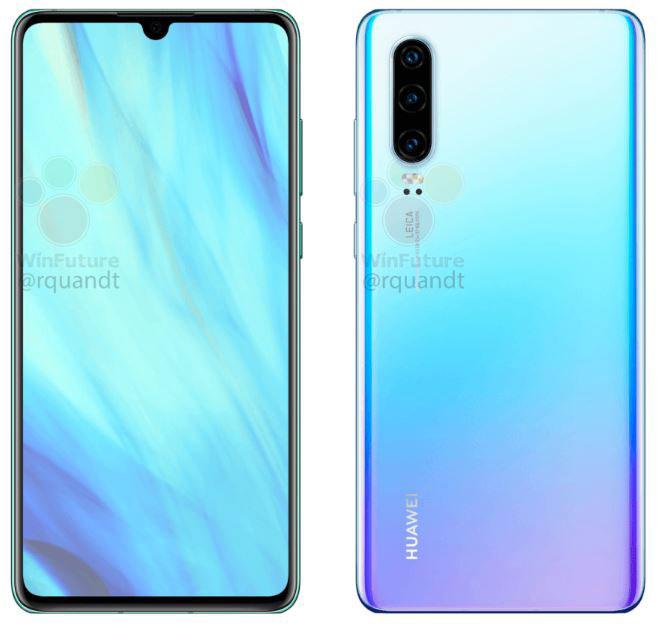Huawei P30 و P30 Pro با جزئیات لو رفتند!