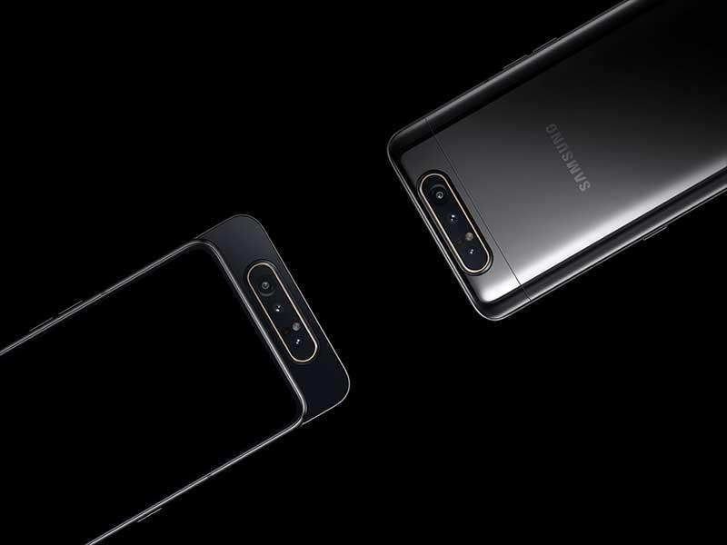 معرفی سامسونگ گلکسی A80 با سه دوربین چرخان!