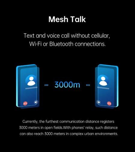 با Oppo MeshTalk بدون آنتن و اینترنت، تماس بگیرید و پیام بفرستید!