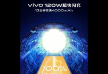 Super FlashCharge ویوو: 120 وات، شارژ کامل در 13 دقیقه!