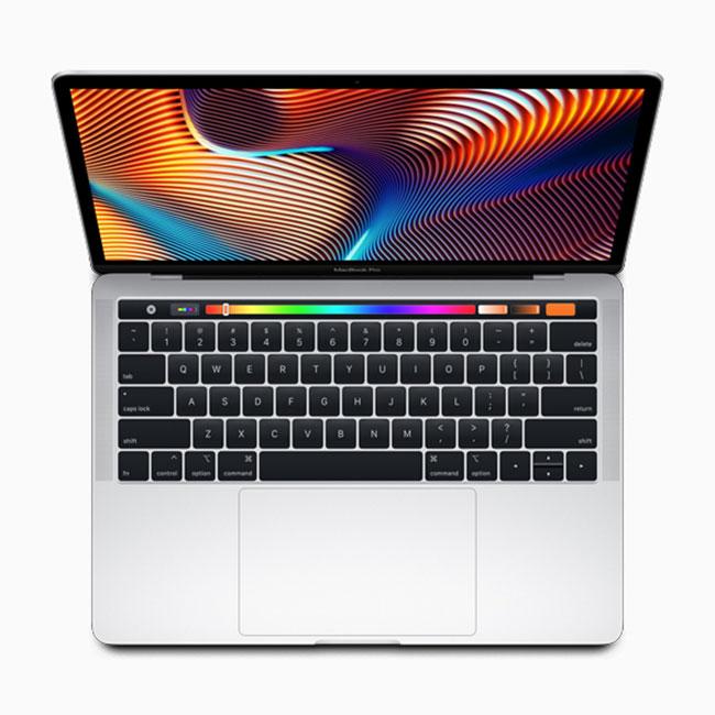 MacBook Pro 13 جدید با تاچبار و CPU جدید