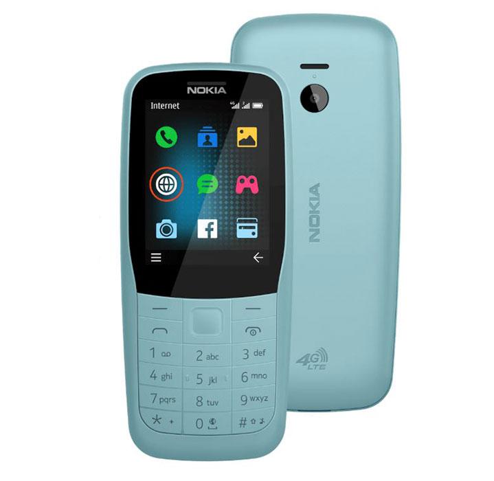 معرفی Nokia 220 4G و Nokia 105 2019 با قیمت رویایی