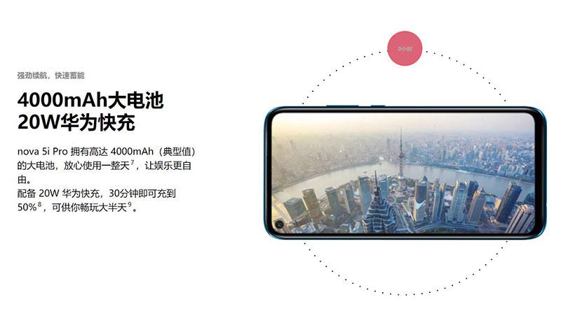نوا 5i Pro رسما معرفی شد: Kirin 810 دوربین چهارگانه