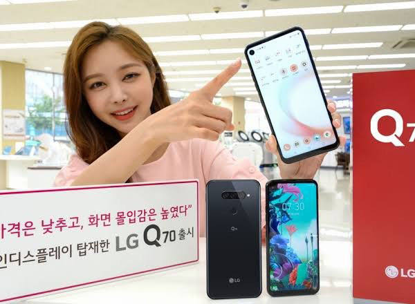 LG Q70 همه فن حریفی با SD675 و دوربینهای سهگانه