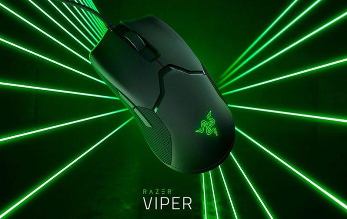 موس گیمینگ Razer Viper با سوییچهای نوری