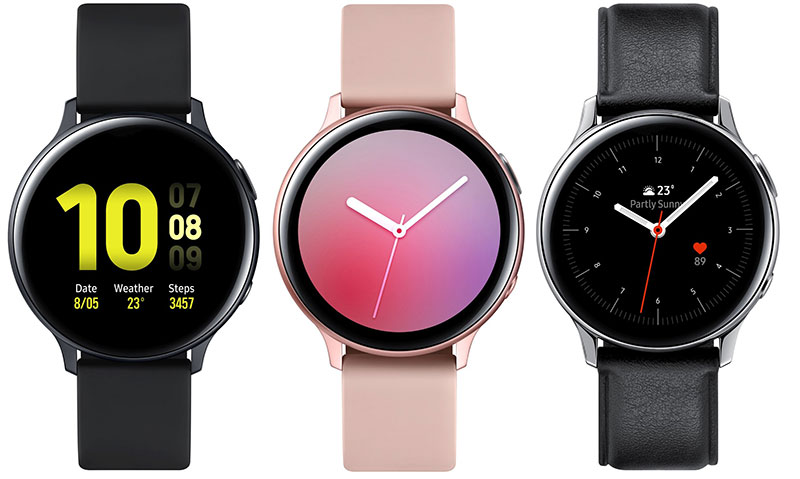 Galaxy Watch Active 2 را یک روز زودتر از معرفی ببینید