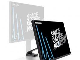 مانیتور Space Gaming سامسونگ: 32 اینچ با حداقل جا