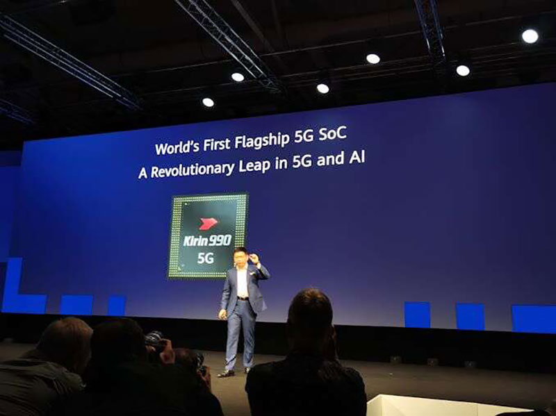 Kirin 990 پروسسور 7 نانومتری در دو نسخه 4G و 5G