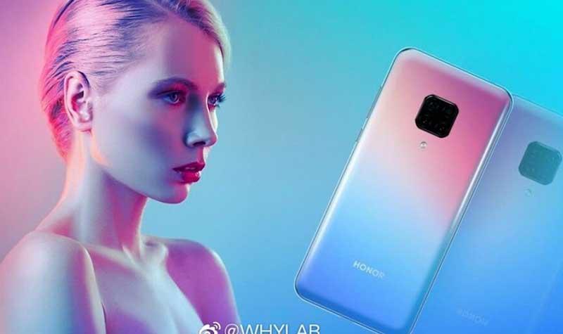 Honor V30 Pro با دوربین 60MP و پردازنده Kirin 990 5G؟