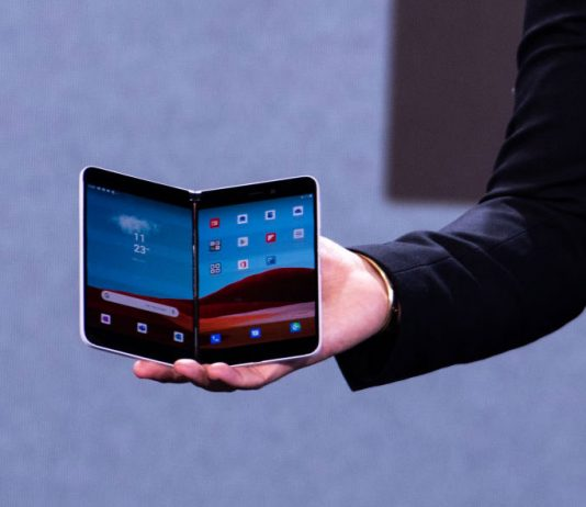 سرفیس Duo گوشی اندرویدی مایکروسافت با دو صفحهنمایش!