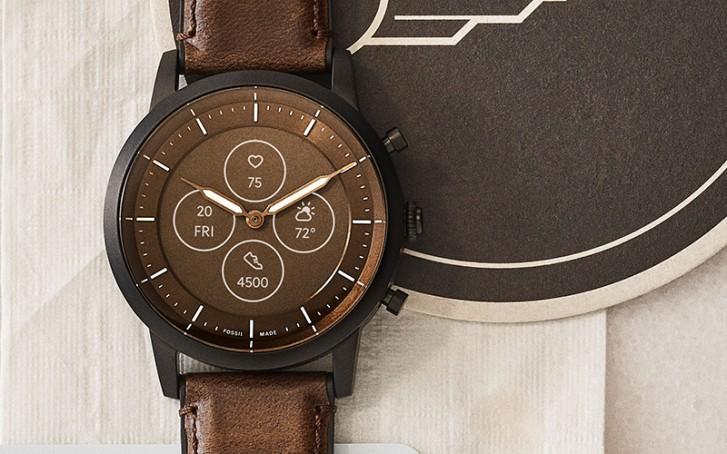 Hybrid HR ساعت Fossil با صفحهنمایش e-ink