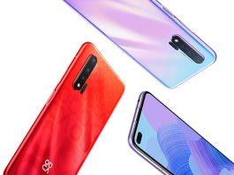 Huawei Nova 6 در دو نسخه 4G و 5G میآید