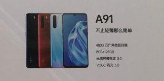 پوستر لو رفتهای مشخصات Oppo A8 و A91 را افشا کرد!