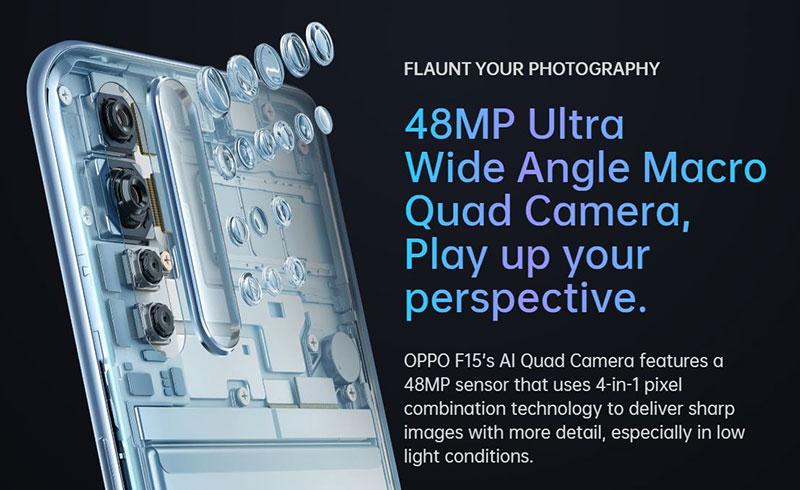 معرفی Oppo F15 ارزانقیمتی با پنل AMOLED و دوربین چهارگانه