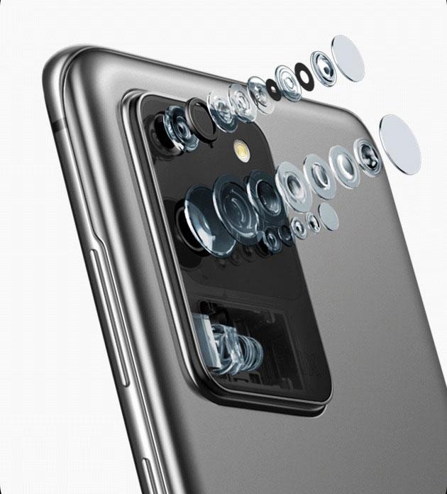 معرفی گلکسی S20 Ultra با دوربین 108MP و 100x زوم دیجیتال