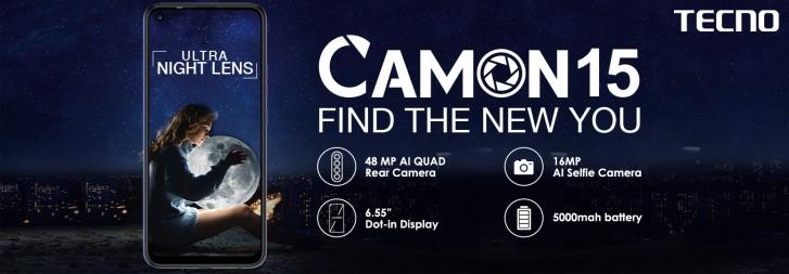 تکنو Camon 15 و Comon 15 Pro با دوربین 48MP و قیمتی رویایی
