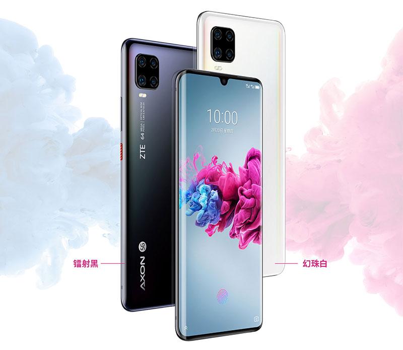ZTE Axon 11 5G با Snapdragon 765G و صفحهنمایش OLED