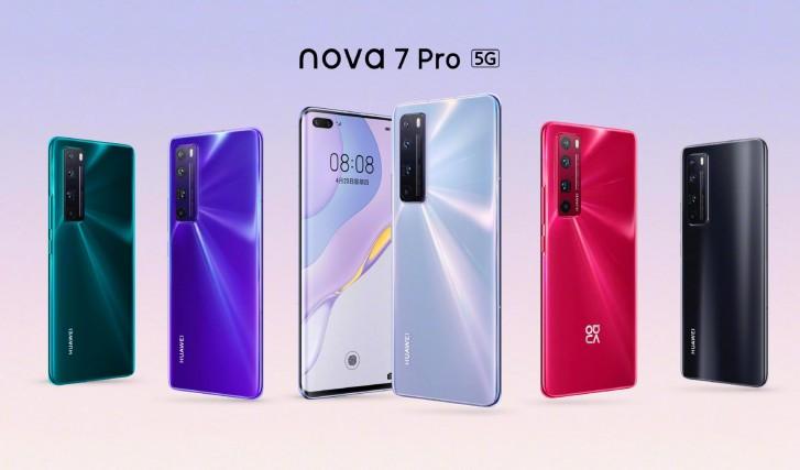 خانواده نوا 7 آمدند: nova 7 SE ،nova 7 و nova 7 Pro