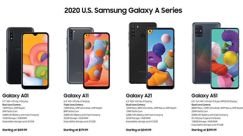 معرفی A71 5G و A21 سوغات سامسونگ برای آمریکا